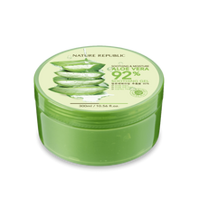 Carregar imagem no visualizador da galeria, [Nature Republic] Aloe Vera Soothing and Moisture Gel 92% - 300ml - kmade cosméticos coreanos