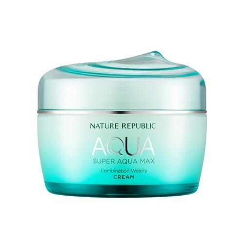 [NATURE REPUBLIC] Super Aqua Max Combination Watery Cream - 80ml - kmade cosméticos coreanos