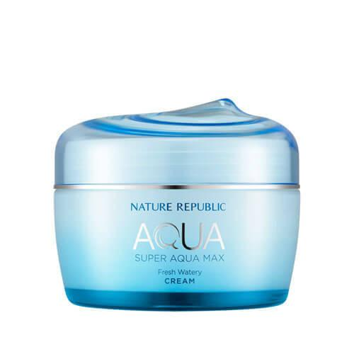 [NATURE REPUBLIC] Super Aqua Max Fresh Watery Cream - 80ml - kmade cosméticos coreanos