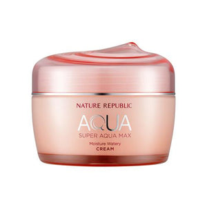 [NATURE REPUBLIC] Super Aqua Max Moisture Watery Cream - 80ml  - kmade cosméticos coreanos