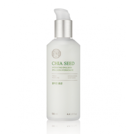 [THE FACE SHOP] Chia Seed Hydrating emulsion (lotion) - 145ml - kmade cosméticos coreanos
