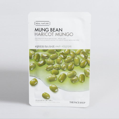 [THE FACE SHOP] Real Nature Face Mask - 10 UNIDADES - kmade cosméticos coreanos