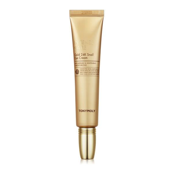 [Tonymoly] Intense Care Gold 24K Snail Eye Cream - 30ml - kmade cosméticos coreanos
