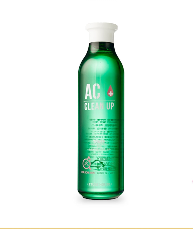 [ETUDE HOUSE] AC Clean Up Toner - 200ml - kmade cosméticos coreanos