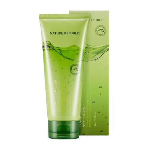 [NATURE REPUBLIC] Jeju Sparkling Foam Cleanser 150ml - kmade cosméticos coreanos