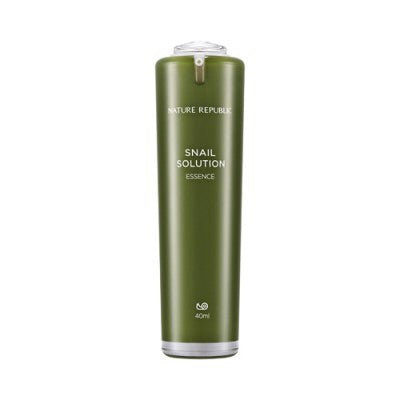 NATURE REPUBLIC] Snail Solution Essence - 40ml - kmade cosméticos coreanos