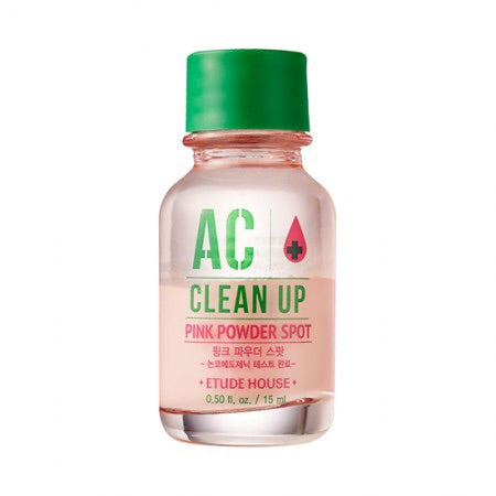 [Etude House] AC Clean UP Pink Powder Spot - 15ml - kmade cosméticos coreanos