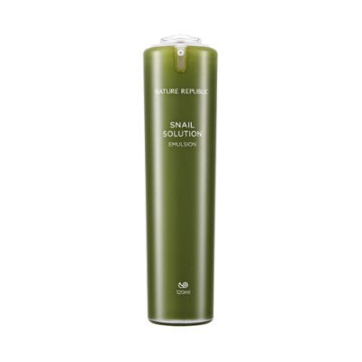 [NATURE REPUBLIC] Snail Solution Emulsion - 120ml - kmade cosméticos coreanos