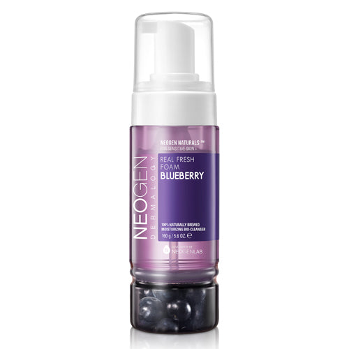 [Neogen] Real Fresh Foam #Blueberry - kmade cosméticos coreanos