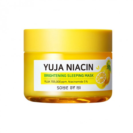 [SOME BY MI] Yuja Niacin Brightening Sleeping Mask - 60g (30% OFF) - kmade cosméticos coreanos