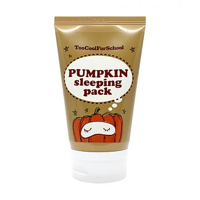 [TOO COOL FOR SCHOOLl] Pumpkin sleeping pack - 100g (20%OFF) - kmade cosméticos coreanos