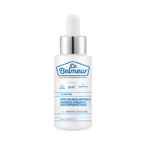 [THE FACE SHOP] Dr. Belmeur Clarifying Spot Calming Ampoule - 22ml - kmade cosméticos coreanos