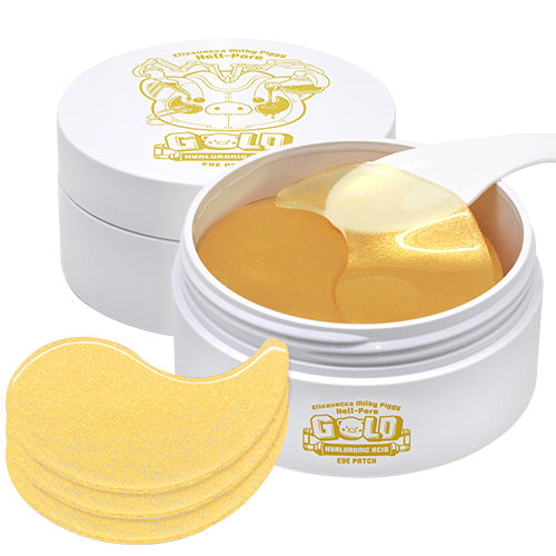 [ELIZAVECCA] Hell-Pore Gold Hyaluronic Acid Eye Patch - 60un - kmade cosméticos coreanos