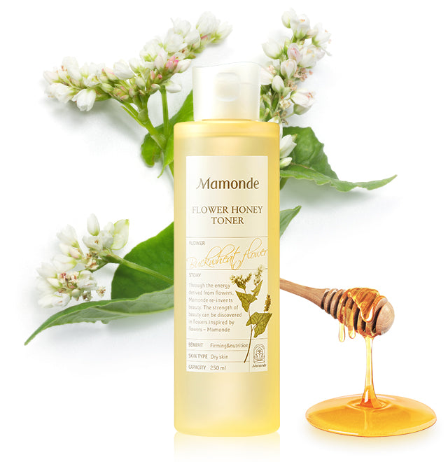 [MAMONDE] Flower Honey Toner - 250ml - kmade cosméticos coreanos
