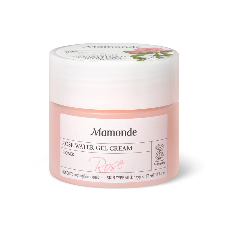 [MAMONDE] Rose Water Gel Cream - 80ml - kmade cosméticos coreanos