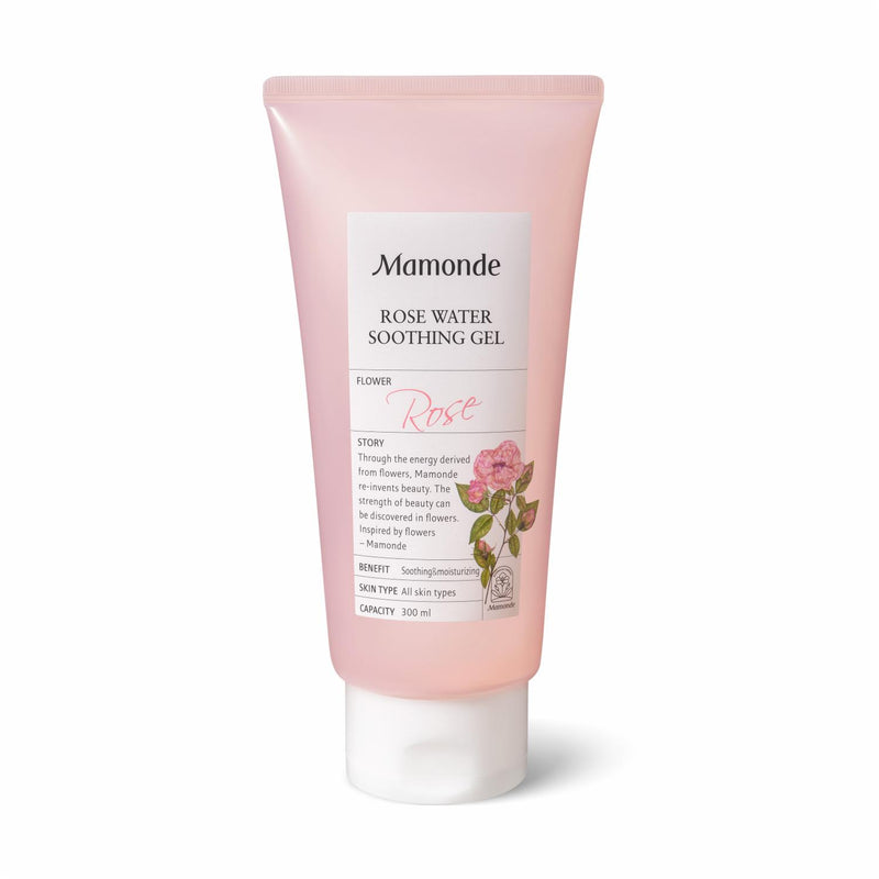 [MAMONDE] Rose Water Soothing Gel - 300ml - kmade cosméticos coreanos