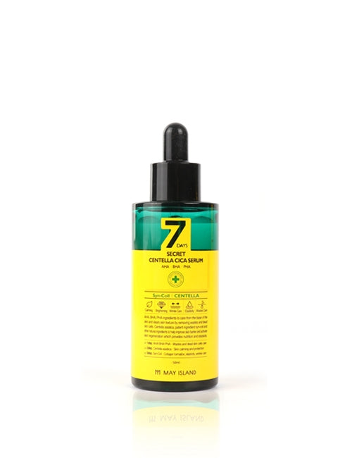[MAY ISLAND] 7 Days Secret Centella Cica Serum - 55ml (50%OFF) - kmade cosméticos coreanos