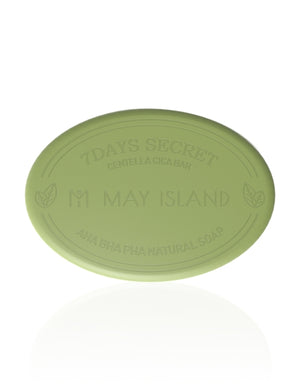 [MAY ISLAND] 7 Days Secret Centella Cica Soap - 15gr (50%OFF) - kmade cosméticos coreanos