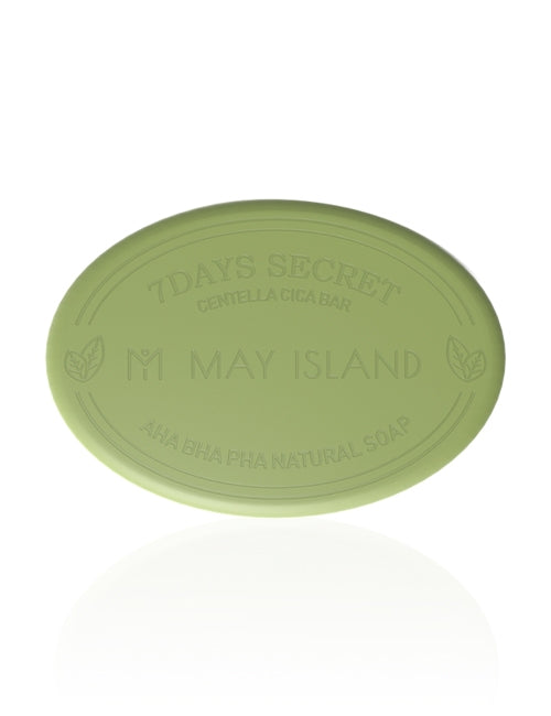 [MAY ISLAND] 7 Days Secret Centella Cica Soap - 15gr (30%OFF) - kmade cosméticos coreanos