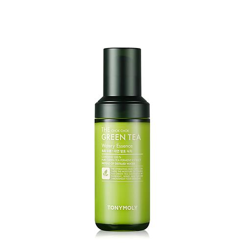 [TONYMOLY] The Chok Chok Green Tea Watery Essence - 55ml - kmade cosméticos coreanos