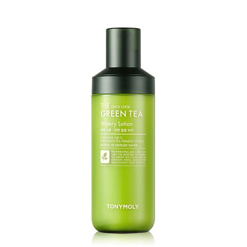 [TONYMOLY] The Chok Chok Green Tea Watery Lotion - 160ml - kmade cosméticos coreanos