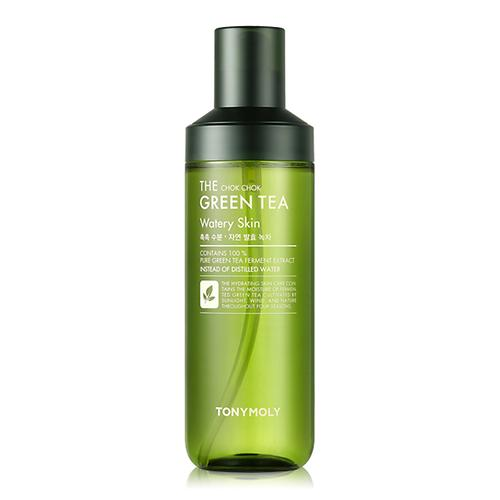 [TONYMOLY] The Chok Chok Green Tea Watery Skin - 180ml - kmade cosméticos coreanos