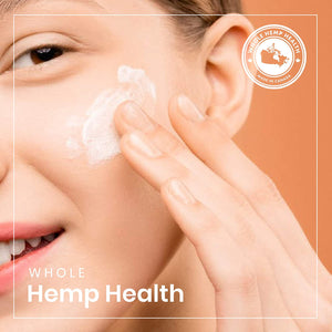 Facial Cleansing Milk for All Skin Types with Organic Hemp Oil, Orange Blossom Water, Witch Hazel Extract, Shea Butter & Essential Oils - 3.38 Fluid Ounces