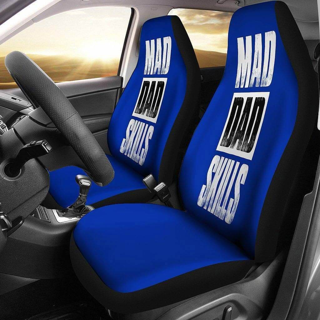 Mad Dad Skills Gift For Dad Car Seat Covers Riotdeal