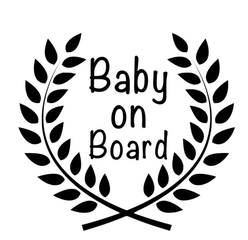 Baby on board - Car decal
