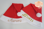 Personalised Santa hats