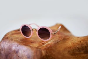 Pink Bubblegum sunglasses/ Case