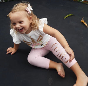 Personalised leggings