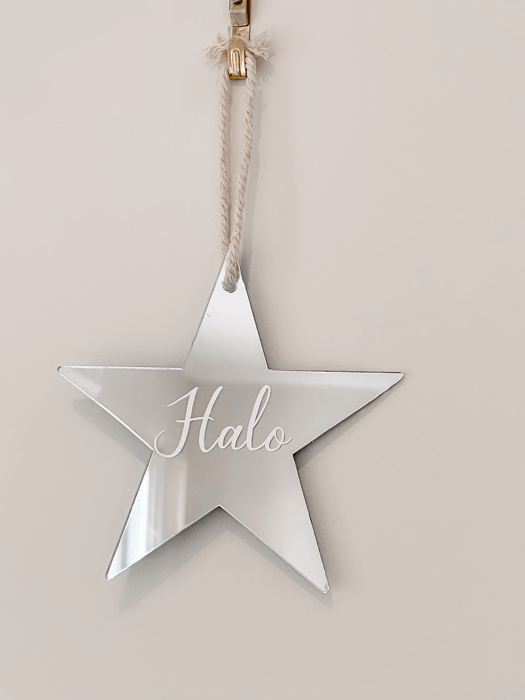 Star tree decoration