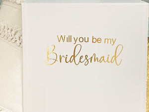 WILL YOU BE MY BRIDESMAID PACK