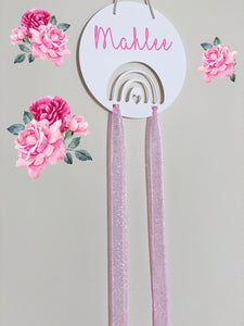 Pretty Little Miss Bow Holder