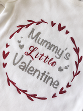 Load image into Gallery viewer, Mummy's Little Valentine bodysuit