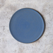 Load image into Gallery viewer, large plate in denim blue