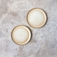 Load image into Gallery viewer, salad plates in ochre // set of two