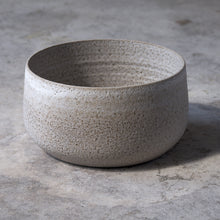 Load image into Gallery viewer, large stone bowl in rough white
