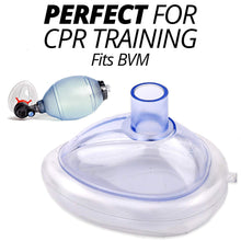 Load image into Gallery viewer, Infant CPR Pocket Resuscitator Training Masks (Pack of 10) with Nylon Bag