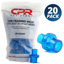 Load image into Gallery viewer, CPR 1 Way Valves - 20 Pack