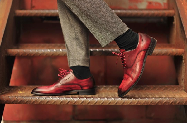 The Anatomy of the Dress Shoe I Oxford Shoe Guide