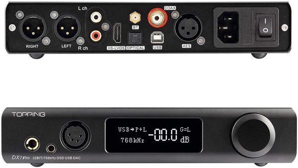 Topping DX7 Pro Headphone Amp and DAC