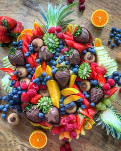 Christmas Fruit & Dessert Platter