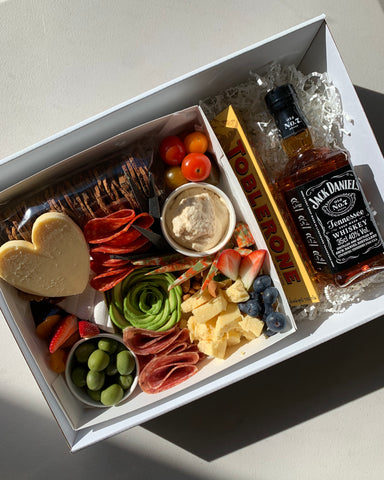 Father's Day Cheese Box + Jack Daniels 350ml