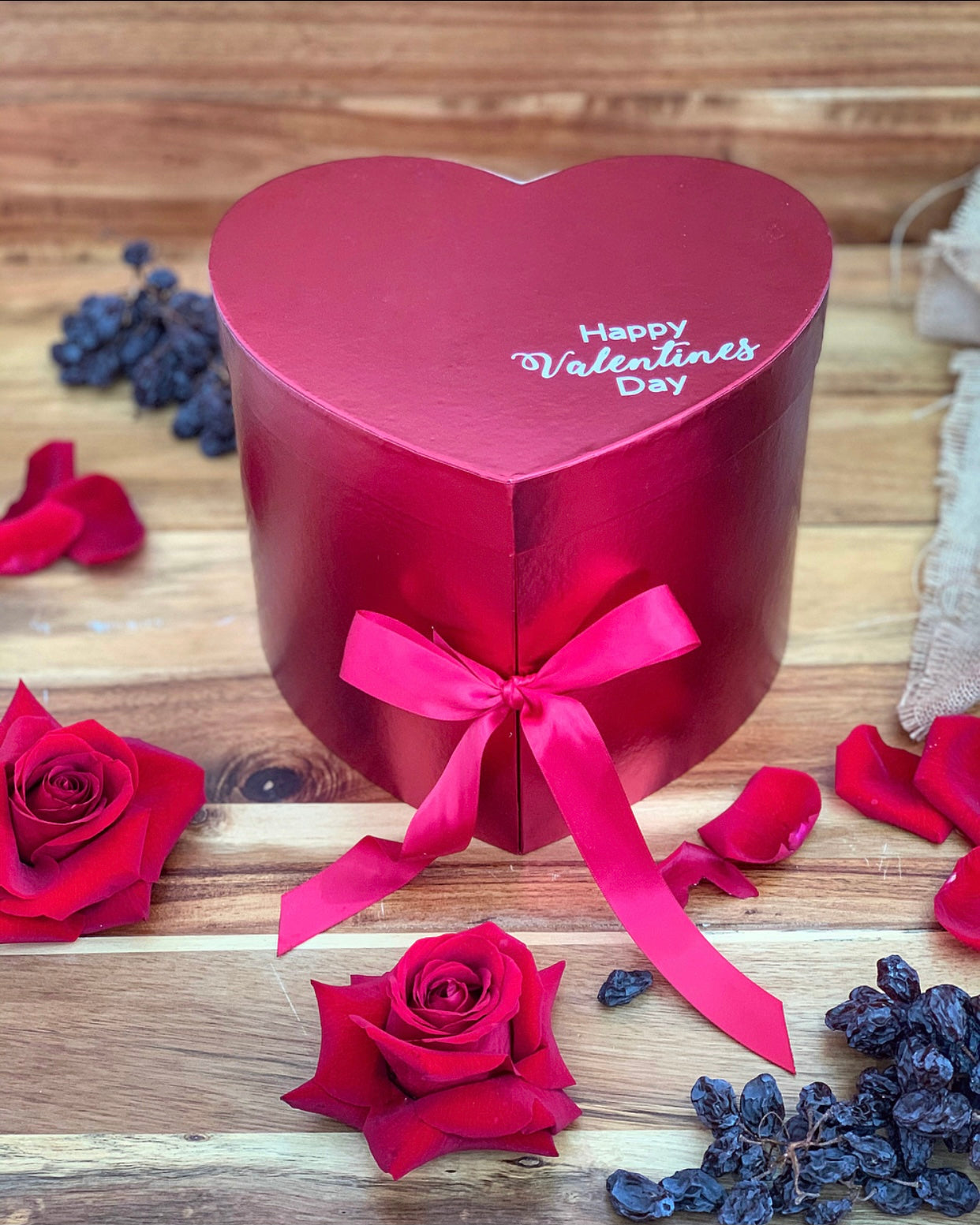 2 in 1 Red Heart Box