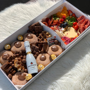 2 in 1 Large Dessert Box