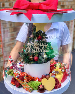 Antipasto Christmas Tree Wreath