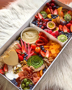 2 in 1 Large Cheese & Fruit Box