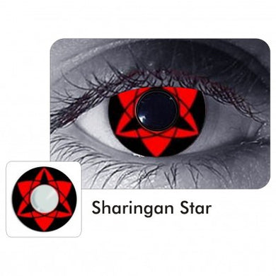 Contact Lense-Sharingan Star